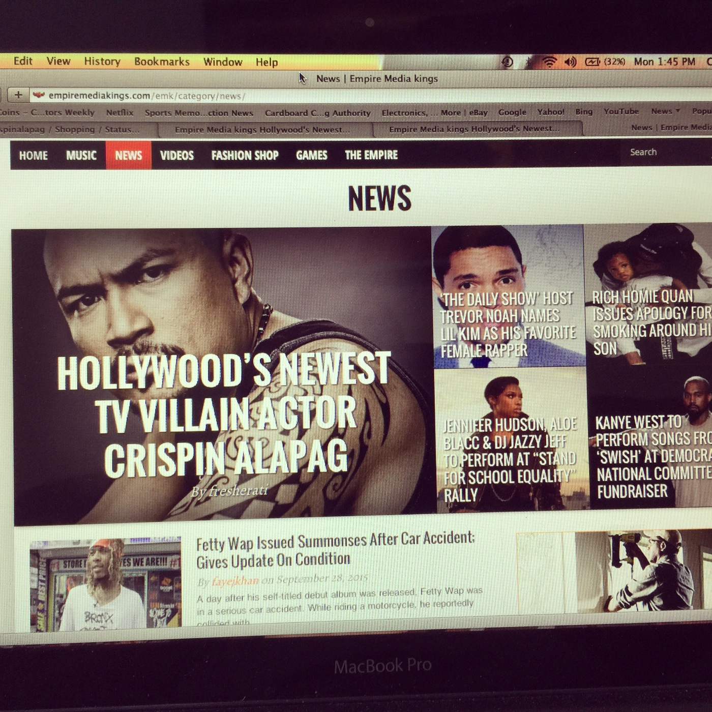 HOLLYWOODS NEWEST TV VILLAIN ACTOR CRISPIN ALAPAG | CRISPIN